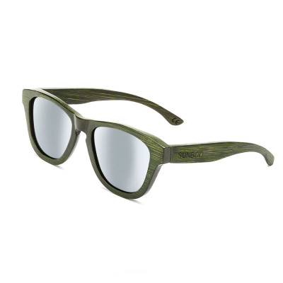 Sunboo Hatch Green Grey Mirror